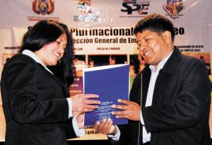 Graduación de Jóvenes en El Alto