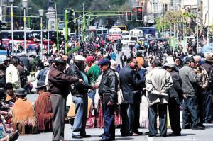Jubilados vuelven a movilizarse en La Paz