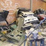 partes de los autos robados