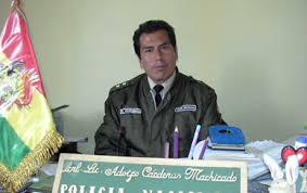 Cnl. Adolfo Cárdenas FELCC - El Alto