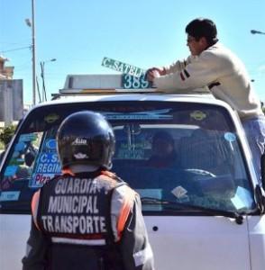 Guardias municipales de El Alto