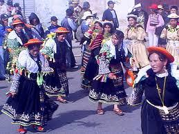 Entrada Estudiantil de El Alto - Foto Agencias