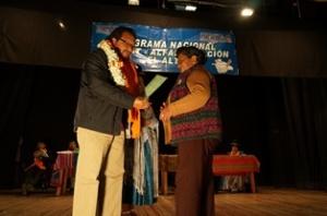 Acto de Graduación 'Yo si puedo seguir' en El Alto