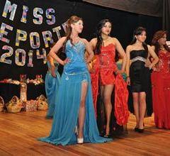 Elección Miss Deporte en El Alto