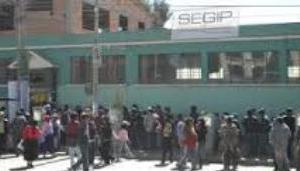 SEGIP de El Alto - Agencias