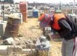 Camposantos  de El Alto - Agencias