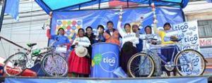 Cuarta Versión  ciclismo de cholitas en El Alto