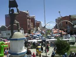Feria 16 de julio El Alto -Agencias