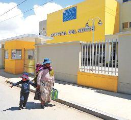 Hospital del Norte - La Razón