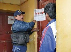 Operativo y clausura de hornos en El Alto