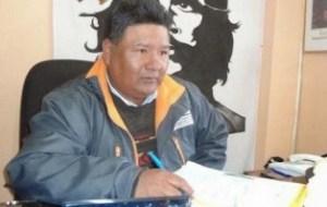 Sergio Choque candidato por el MAS - Foto Agencias